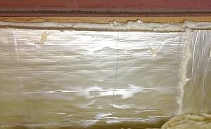 rigid foam installation