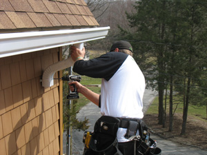 Hartford, CT's experts for gutter installation